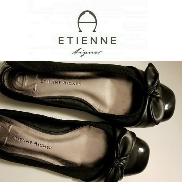 Etienne Aigner Ballet Flats